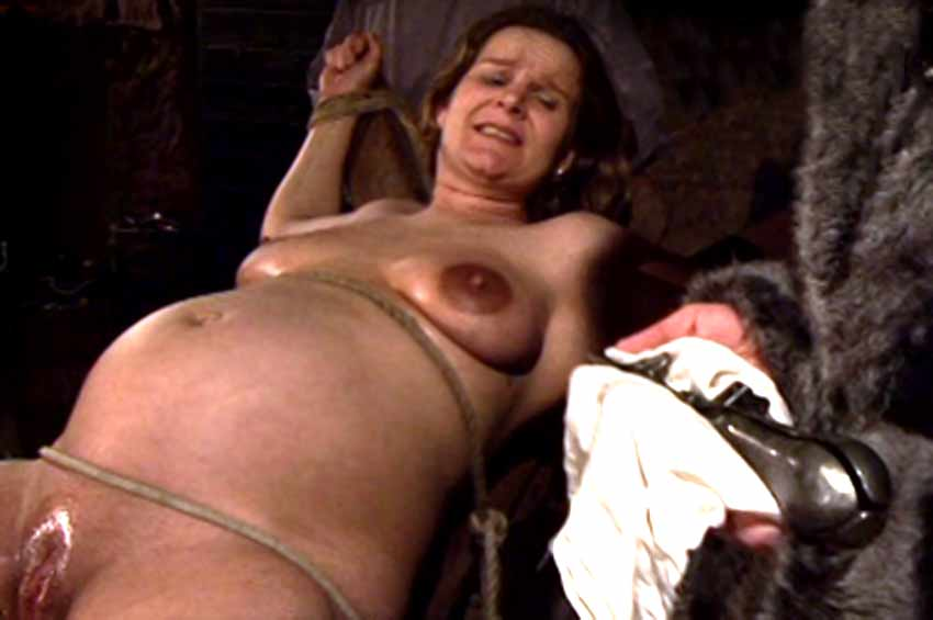 pregnant torture glamour Nude