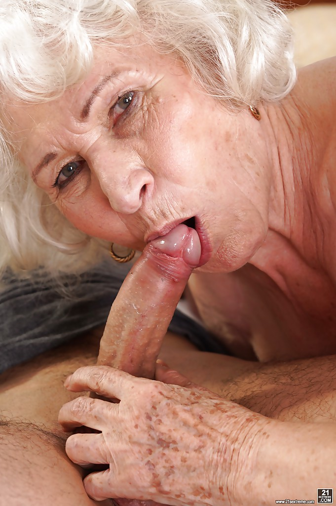 dick sucking Latex oral grannies