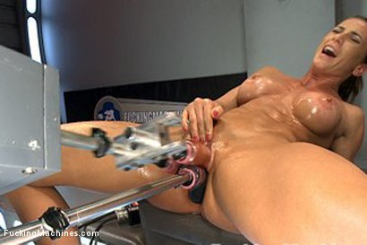 machines blowjob fucking Muscle double