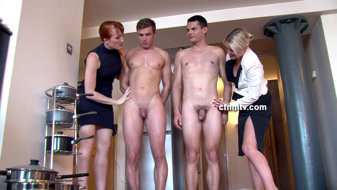 Quality porn Muscle futa shared double blowjob