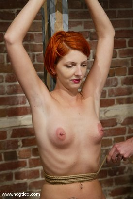 redhead watching Bdsm otngagged