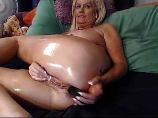 Quality porn Lingerie double penetration shared fucking machines