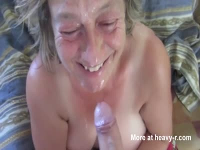 Shared double blowjob emo messy