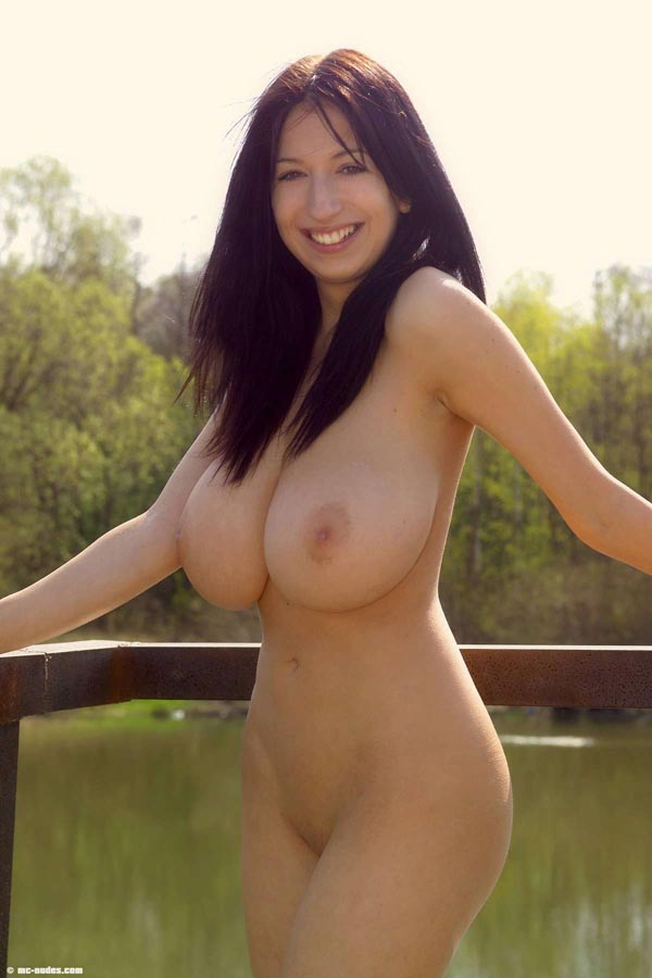 outdoor Big boobs young chicktrainer