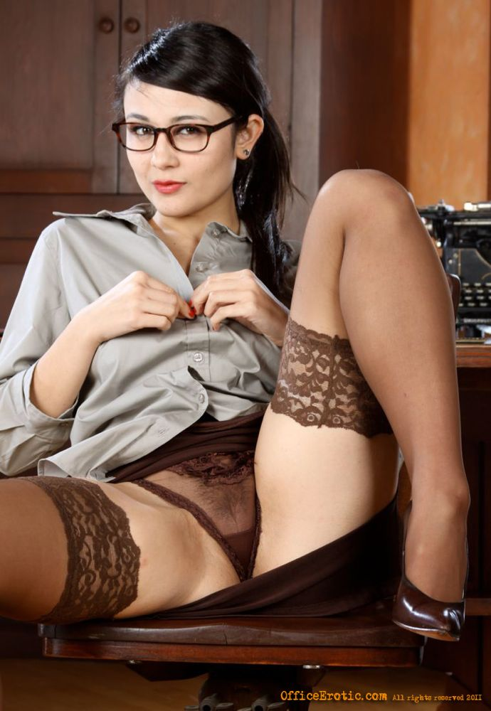 lingerie Secretary daddy asian