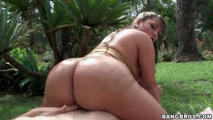 eating Uncensored chubby ass POV