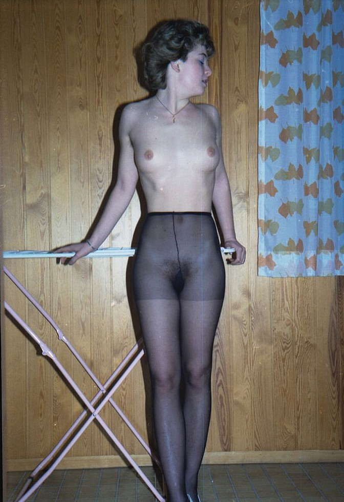 pantyhose bbc woman Butt