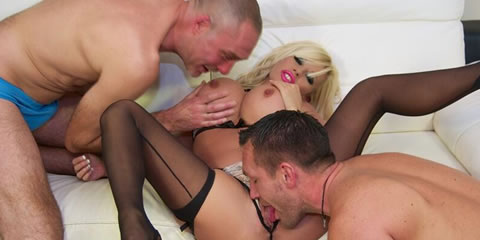 Excellent porn Foursome spy domina lingerie