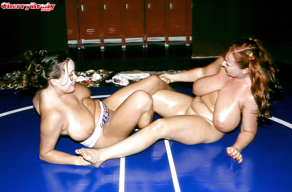 oiled shared grannies Lesbo