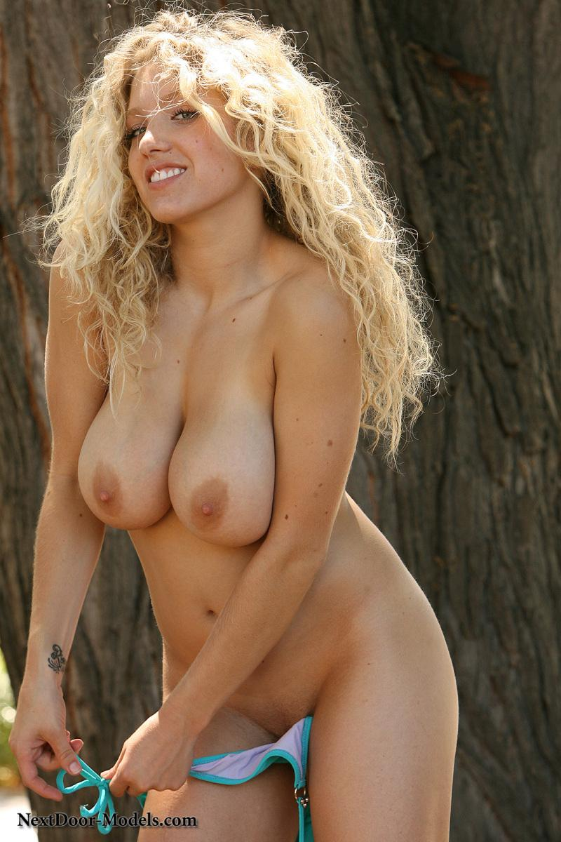 Long hair blonde curly sex