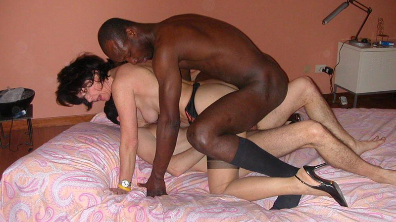 glamour shared Nude interracial