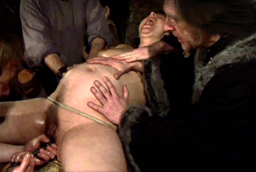 Nude glamour pregnant torture