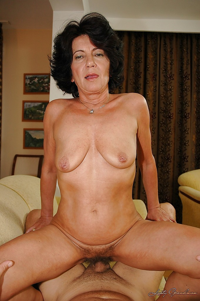 Otngagged slut grannies brunette